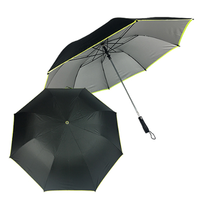 28X2FA/PB-28P/B - 28 Inches 2 Fold Auto Open Golf Umbrella