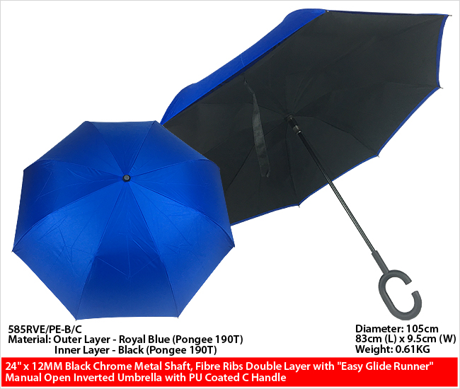 585RVE/PE-B/C - Inverted Umbrella