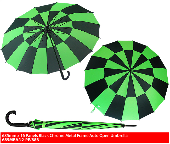 685MBA/J2-PE/88B - 2 Colours Mix Umbrella