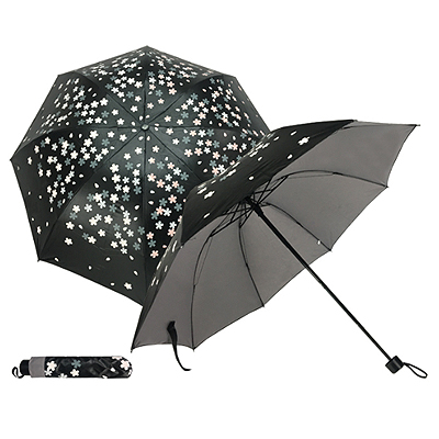 421/BFP-358E Flower - Water Activated 4 Fold Umbrella