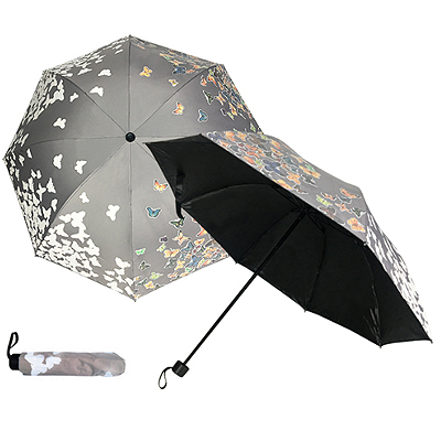 421/BFP-358C Butterfly - Water Activated 4 Fold Umbrella