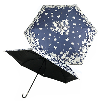 AJ8603 - Supreme UV Protection Foldable Umbrella with J Handle