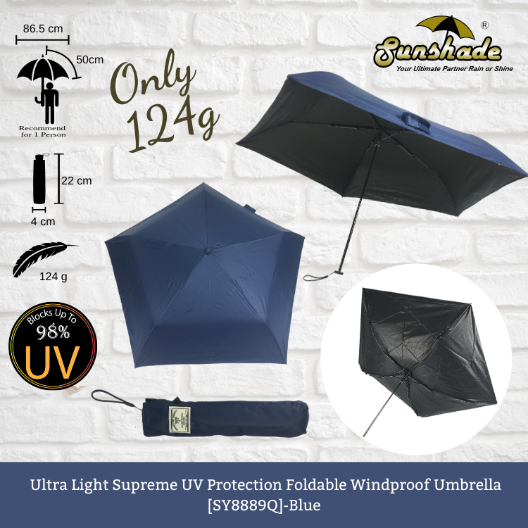 SY8889Q - Ultra Light Supreme UV Protection Foldable Windproof Umbrella