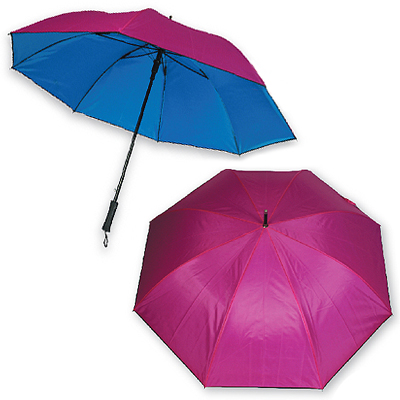 Double Layer and Piping Umbrella - 30 Inches Golf Double Layer and Piping Umbrella
