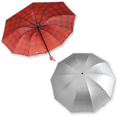 327/A/555 - 27 Inches Auto Open 3 Fold Umbrella