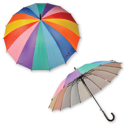 550/E16/1196 - Rainbow Umbrella
