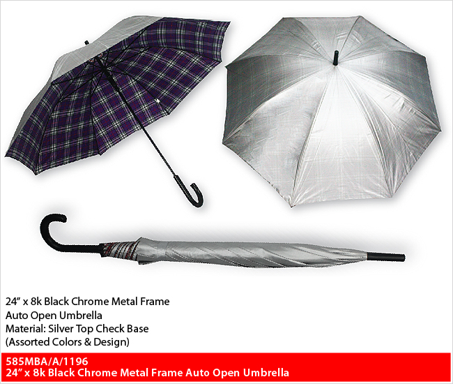 "585MBA/A/1196  - 24"" Straight Series Umbrella"