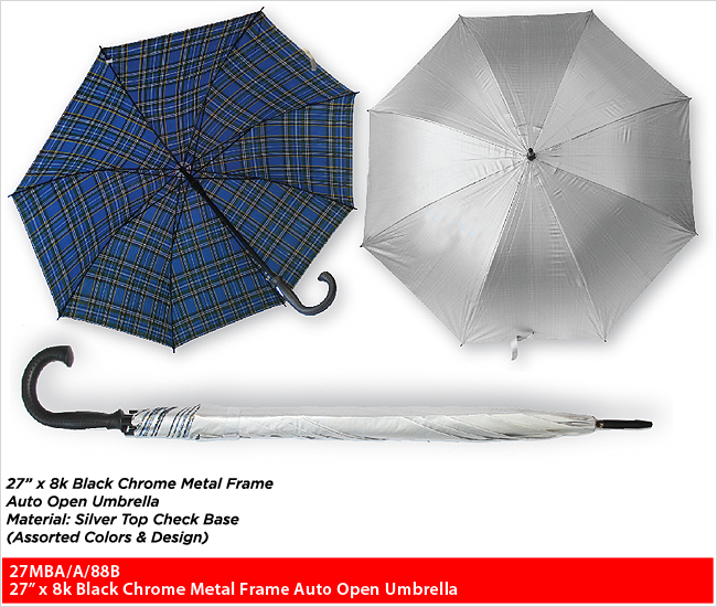 "27MBA/A/88B  - 27"" Straight Series Umbrella"
